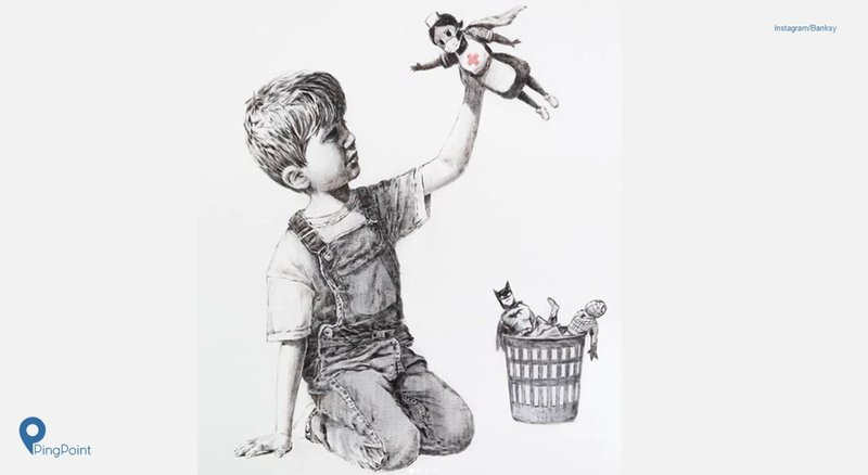 Banksy Dan Ragam Lukisannya Di Masa Pandemi Covid 19
