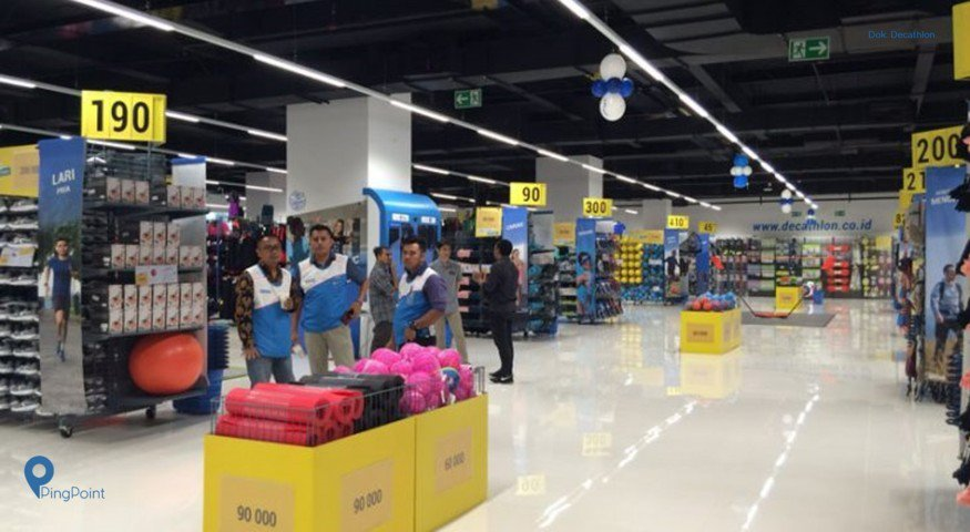 Decathlon Buka Outlet Baru di Mall Taman Anggrek