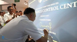 Garuda Maintenance Facility Resmikan Maintenance Control Center Terbaru