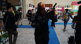 Ini Aksi Cosplayer di Shopee Indonesia Comic Con 2019