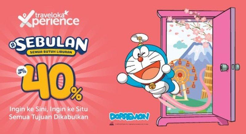 Libur Akhir Tahun Bersama Doraemon, Cek Promo Spesial Traveloka