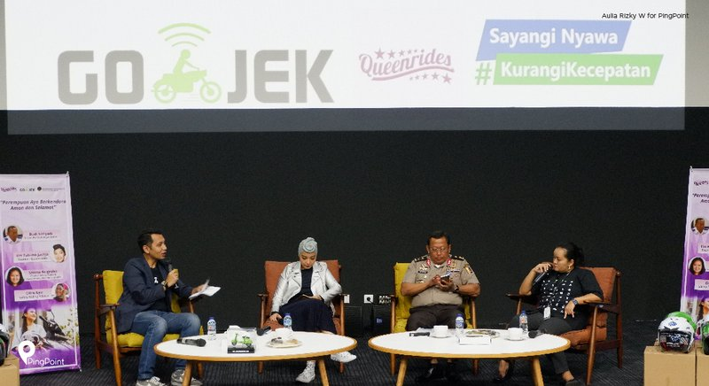 Workshop Go-Jek Road Safety for Women