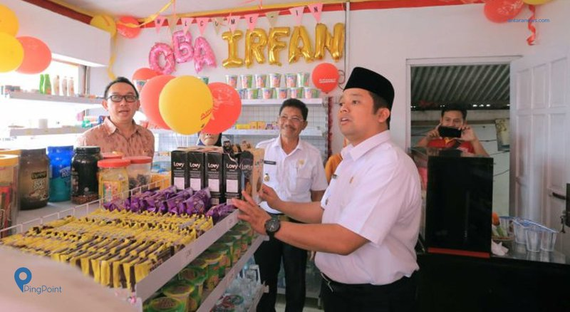 Program Bedah Warung Tradisional Pemkot Tangerang Gandeng Alfamart