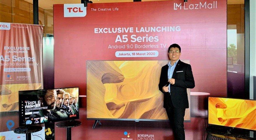 TCL Rilis Smart TV Terbarunya dengan Konsep Borderless
