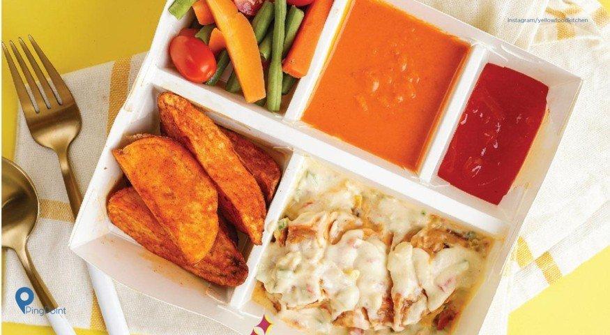 Yellow Fit Express Fast Food Makanan Sehat Pertama Di Indonesia